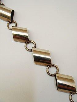 """画像1: """"Napier"""" silver bracelet"""