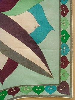 """画像1: """"Emilio Pucci"""" cotton scarf"""