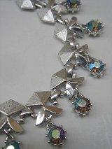 aurora rhine stone necklace