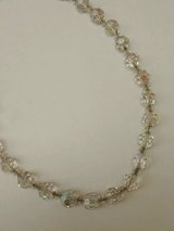 clear beads necklace