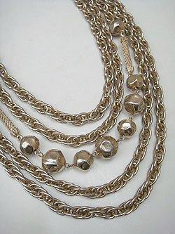 """画像1: """"KRAMER"""" gold necklace"""