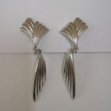 """TRIFARI"" silver design earring"