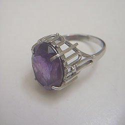 画像1: amethyst silver ring