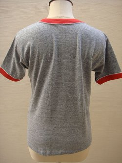 画像3: gray & red ringer T-shirt