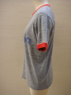 画像2: gray & red ringer T-shirt