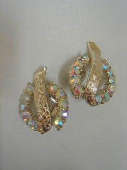 """画像1: """"Coro"""" aurora rhinestone earring"""