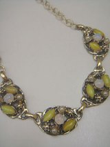 gold & yellow necklace