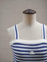 """""""Courreges"""" knit top"""