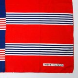 """Pierre Balmain"" tricolore scarf"