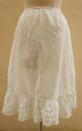 """1915"" antique cotton skirt"